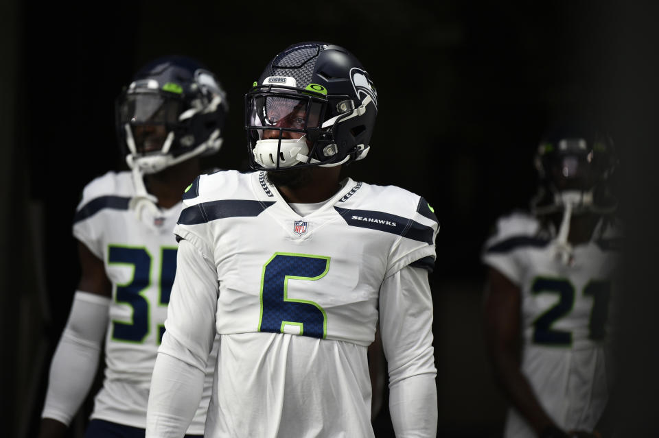 Strong safety Quandre Diggs of the Seattle Seahawks