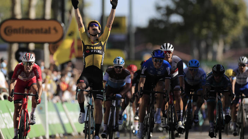 Winds, wiles and Wout: 2020 Tour de France stage 7