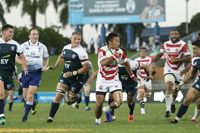 Victory in the tournament put Japan ahead of Fiji in the World rankings and into the top 10 (AFP Photo/Lice MOVONO)