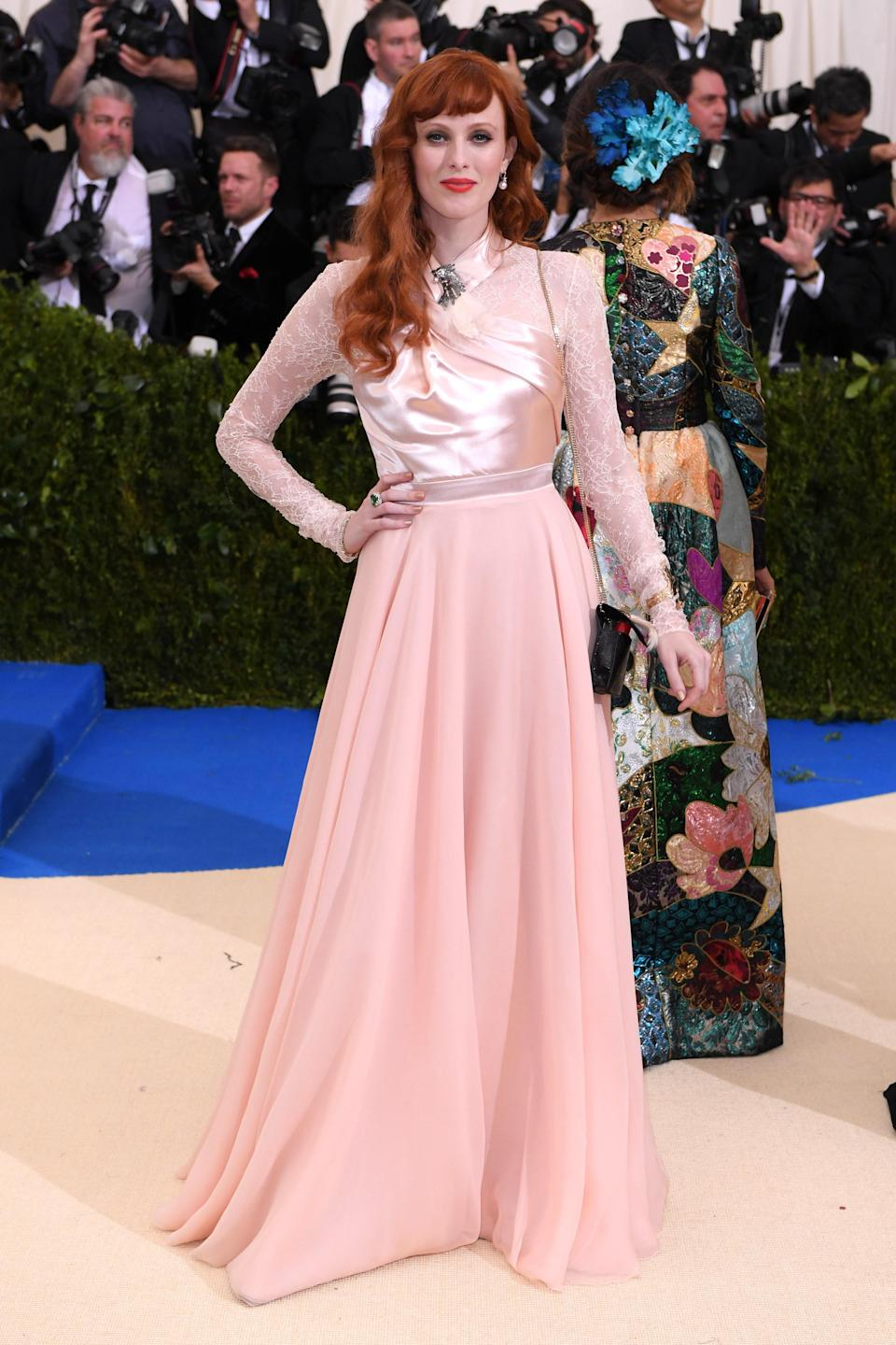 """<h1 class=""""title"""">Karen Elson in Lanvin and Tiffany & Co. jewelry</h1> <cite class=""""credit"""">Photo: Shutterstock</cite>"""