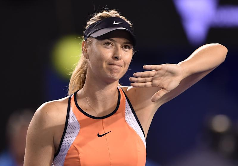 Maria Sharapova is retiring from tennis at age 32. (PETER PARKS/AFP via Getty Images)
