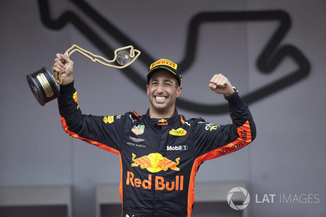 "Daniel Ricciardo, Red Bull Racing (29 podios) <span class=""copyright"">Steve Etherington / Motorsport Images</span>"