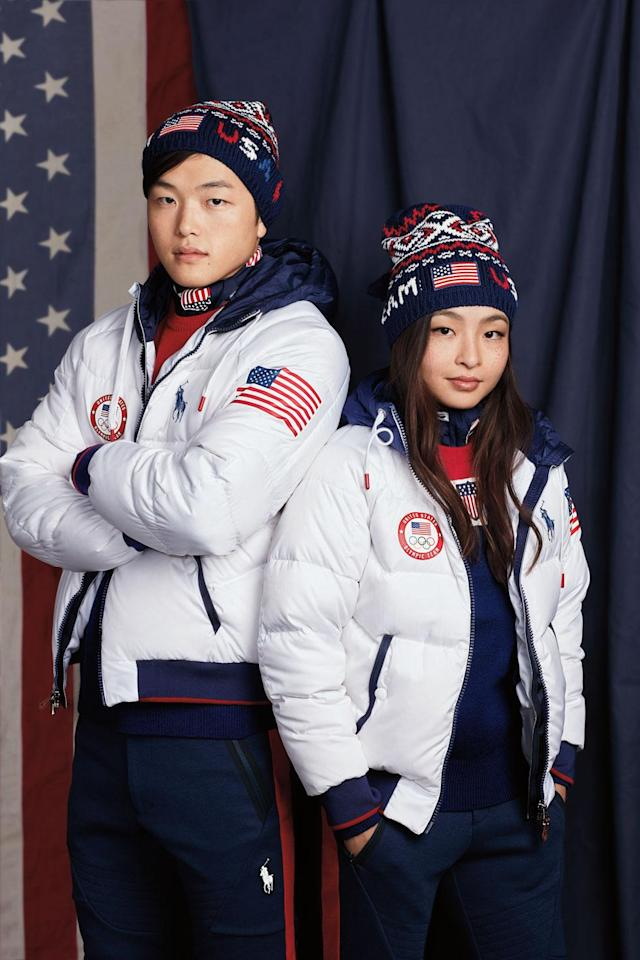 """<p>Nicknamed """"Shib Sibs,"""" siblings Alex and Maia Shibutani are destined for stardom on the Olympic ice, competing in the ice dance event in the figure-skating category. (Photo: courtesy of Ralph Lauren) </p>"""