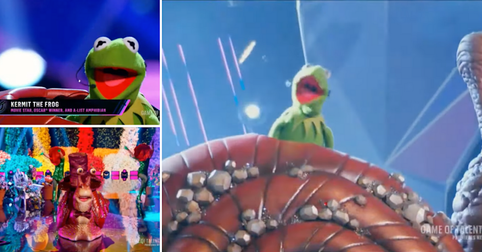 Kermit The Frog on The Masked Singer