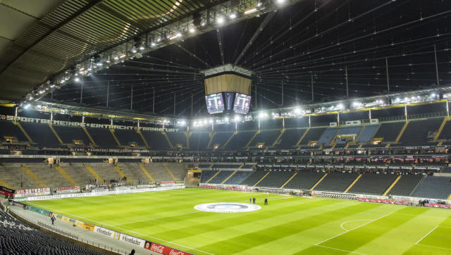<p><strong>Average attendance: 48,345</strong></p> <p>Stadium capacity: 51,500</p> <p>Occupancy rate: 94.2%</p> <br><p>Upgraded for the 2006 World Cup, the Waldstadion, as it is commonly known, is the first of eight Bundesliga stadiums in the top 19 most visited this season, confirming Germany as Europe's most dedicated collection of fans.</p>