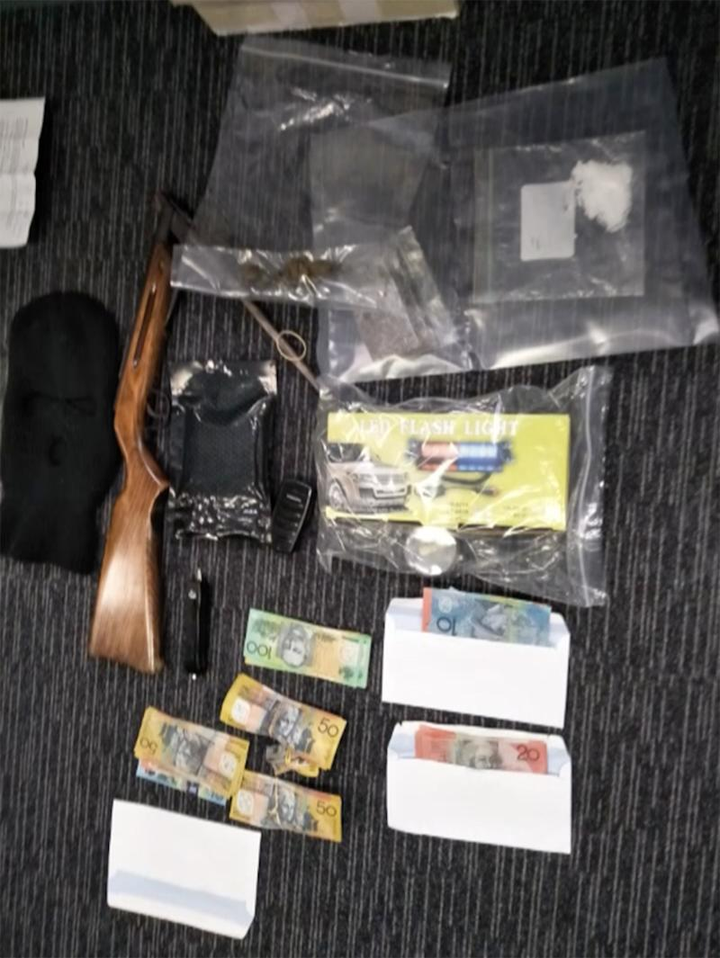 A five-month operation resulted in the seizure of drugs and other items