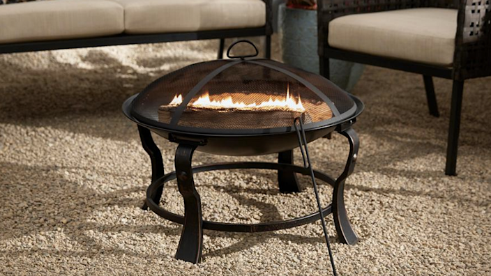 This fire pit is on the small side, but some reviewers love the intimacy it offers