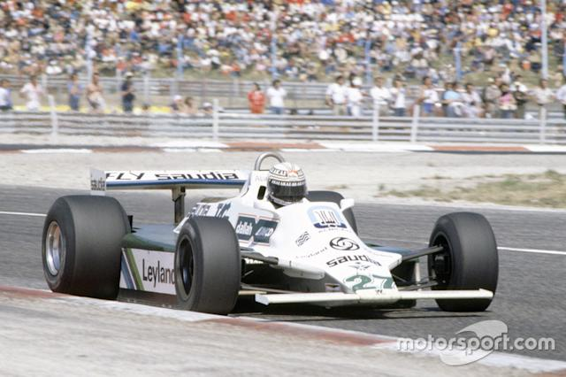 "Alan Jones - 11 victorias con Williams <span class=""copyright"">LAT Images</span>"