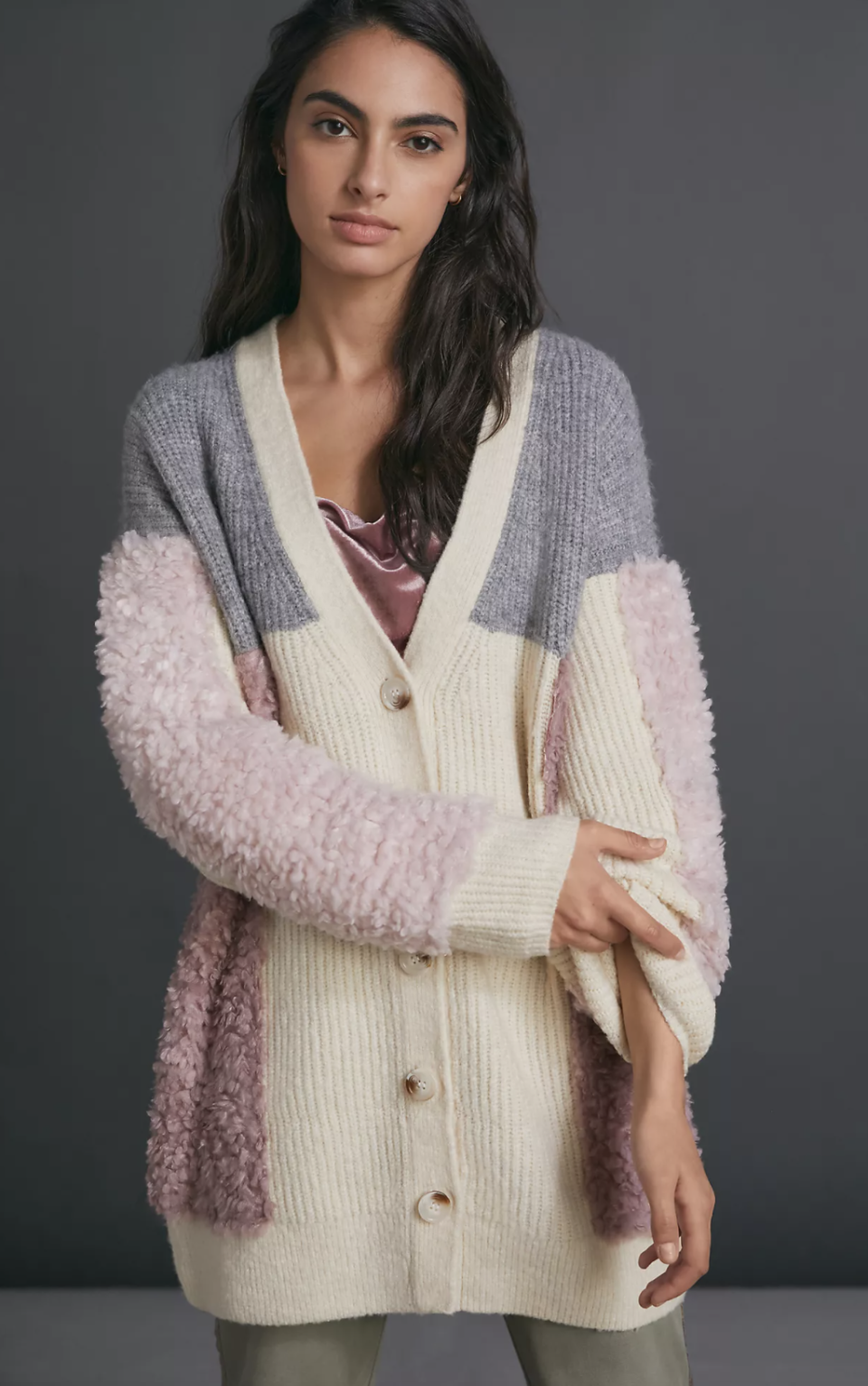 Olivia Textured Cardigan - Anthropologie, $100 (originally  $158)