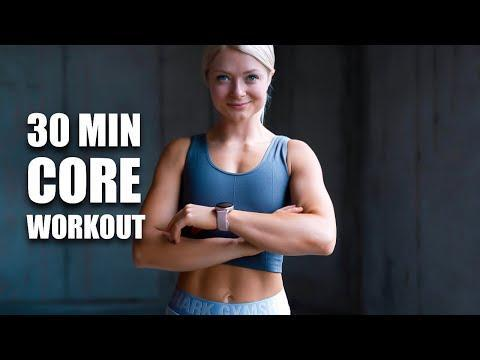 """<p>Get double the benefit with a workout that targets both your back and your core. You won't need anything for this workout. Just the resolve to keep going when it starts to burn! </p><p><strong>Equipment: </strong>Exercise mat<strong><br></strong></p><p><strong>How long? </strong>30 minutes<strong><br></strong></p><p><a href=""""https://www.youtube.com/watch?v=SriiwAGkVmc&ab_channel=growingannanas"""" rel=""""nofollow noopener"""" target=""""_blank"""" data-ylk=""""slk:See the original post on Youtube"""" class=""""link rapid-noclick-resp"""">See the original post on Youtube</a></p>"""