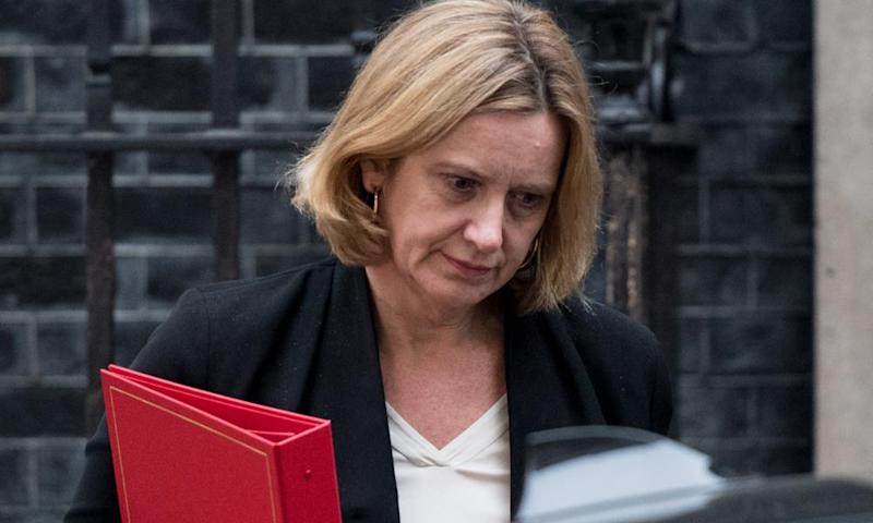 Amber Rudd: trying to think of the most damning label for her department before others.