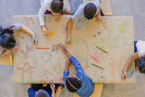 PhD student Shadi Shabih Khani says she hopes her study leads children to find solutions to problems through art. (Getty Images - image credit)