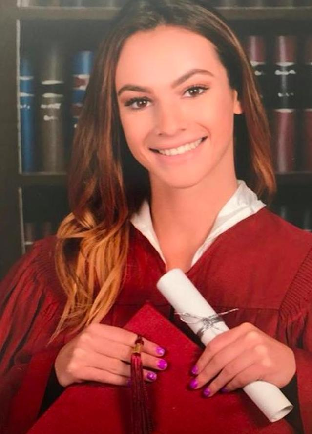 <p>Student Meadow Pollack in a photo posted on Facebook by Robyn Maisner. (Photo via Facebook)<br>Meadow Pollack was beautiful inside and out, her cousin Jake Maisner told the Sun Sentinel. She was a senior and had planned to attend Lynn University in Boca Raton, Fla., her father, Andrew Pollack, told the Palm Beach Post. Meadow Pollack was the youngest of three kids and of the 10 Pollack grandchildren, he said. (AP) </p>