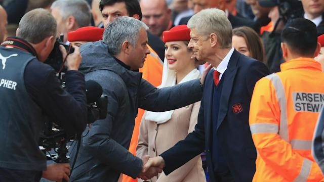 Arsene Wenger and Jose Mourinho have had their share of arguments, but the Manchester United boss says it just shows their mutual respect.