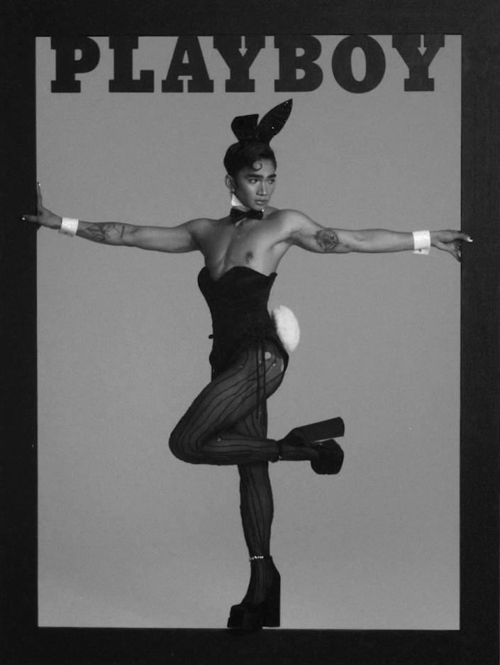 Bretman Rock has become the first gay man to grace the cover of Playboy magazine. (Playboy)
