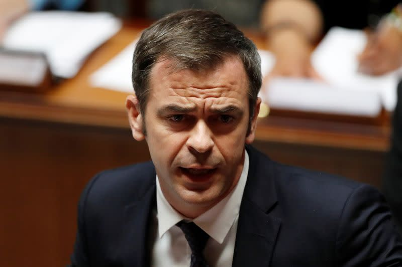 FILE PHOTO: New French government faces MPs questions in Paris