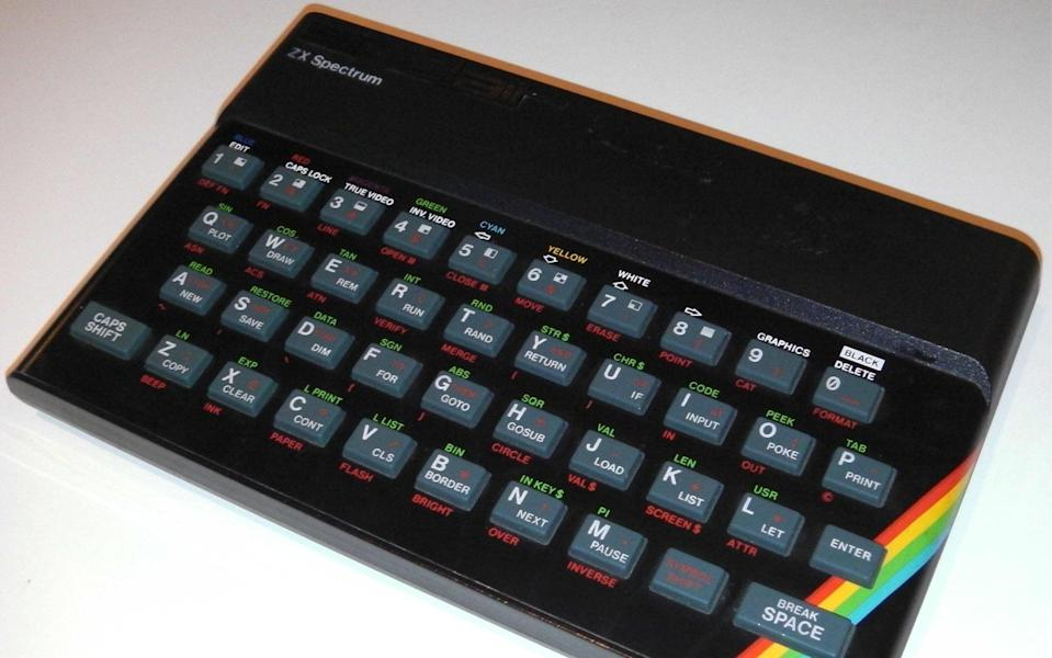 The iconic ZX Spectrum, beloved of gamers - Shutterstock