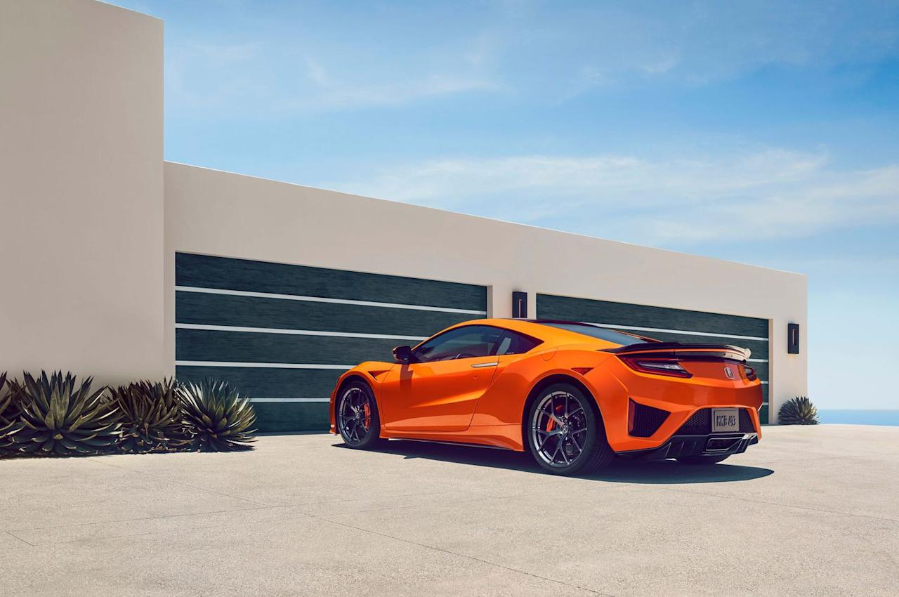 "<p>In case you weren't aware, NSX stands for ""New Sports car eXperience."" It makes sense then that <a rel=""nofollow"" href=""https://www.roadandtrack.com/car-shows/monterey-car-week/a22803084/2019-acura-nsx-update-specs-photos-price-info/"">the new NSX</a> be equipped with a futuristic all-wheel drive hybrid drivetrain and a state-of-the-art dual-clutch transmission. </p>"