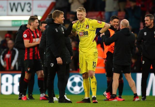 Ramsdale credits an incident at Bournemouth under Eddie Howe as the catalyst for his career.