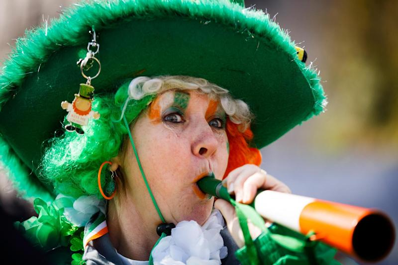 Irish you a happy St Patrick's Day: Londoners will be out in full force for March 17: Getty Images