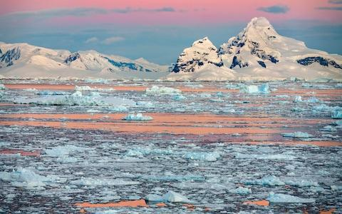 Ice in the Weddell Sea - Credit: iStock