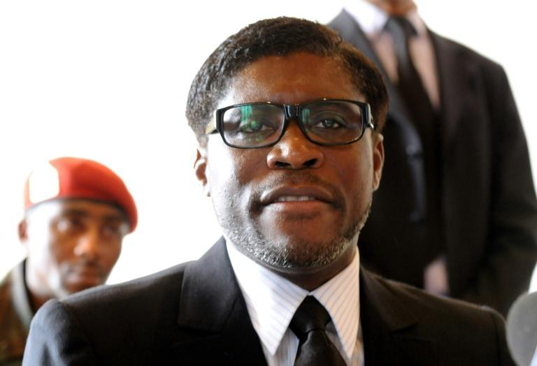 Sanctions: Teodorin Obiang, in a 2012 file picture