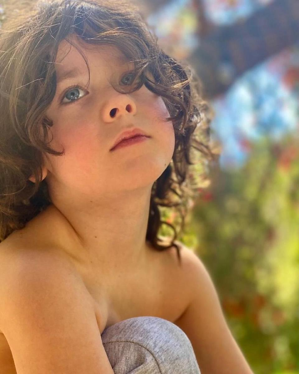 """<p>Soleil Moon Frye's son <a href=""""https://people.com/parents/soleil-moon-frye-welcomes-son-story/"""" rel=""""nofollow noopener"""" target=""""_blank"""" data-ylk=""""slk:Story"""" class=""""link rapid-noclick-resp"""">Story</a> turned 5 on May 16.</p>"""