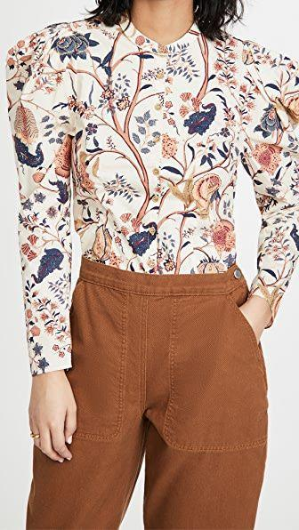 "<p><strong>Ulla Johnson</strong></p><p>shopbop.com</p><p><strong>$245.00</strong></p><p><a href=""https://go.redirectingat.com?id=74968X1596630&url=https%3A%2F%2Fwww.shopbop.com%2Fharriet-blouse-ulla-johnson%2Fvp%2Fv%3D1%2F1506096676.htm&sref=https%3A%2F%2Fwww.townandcountrymag.com%2Fstyle%2Fg35279079%2Fella-emhoff-meena-harris-prairie-dress-inauguration%2F"" rel=""nofollow noopener"" target=""_blank"" data-ylk=""slk:Shop Now"" class=""link rapid-noclick-resp"">Shop Now</a></p>"