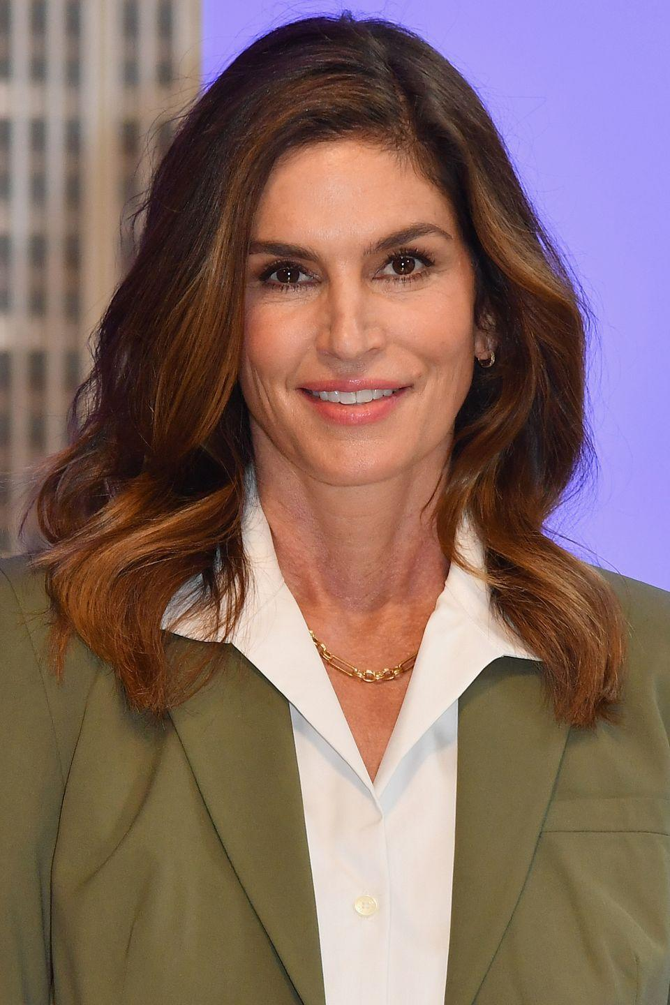 "<p>Cindy Crawford has been open about having Botox in the past, telling the now-defunct InStyle UK: ""I owe the quality of my skin to my cosmetic surgeon.""</p><p>""I'm not going to lie to myself, past a certain age, creams work on the texture of your skin but, in order to restore elasticity, all I can really count on is vitamin injections, Botox, and collagen,"" she continued.</p>"