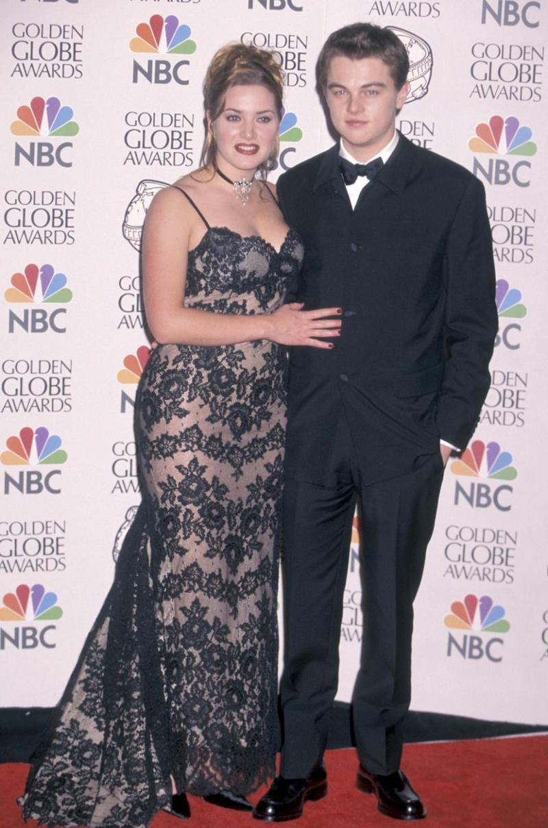 Leo and Kate back in the day. Source: Getty