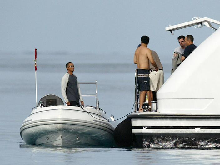 Tiger Woods Privacy Yacht
