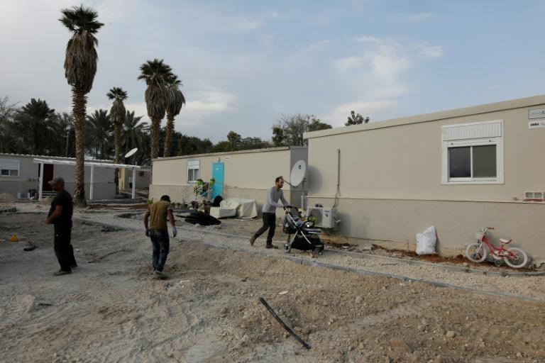 Work only started on the Jordan Valley settlement outpost of Kedem Arava in 2017, around the time US president Donald Trump took power. Four years on, it is home to some 40 families
