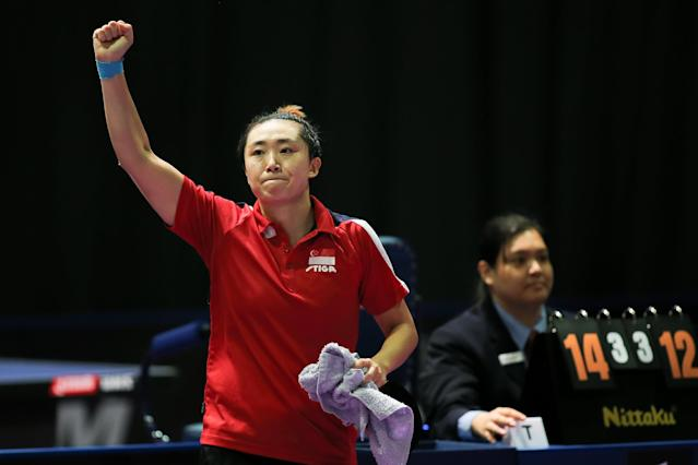 SEA Games: Feng Tianwei takes gold in women's singles table tennis