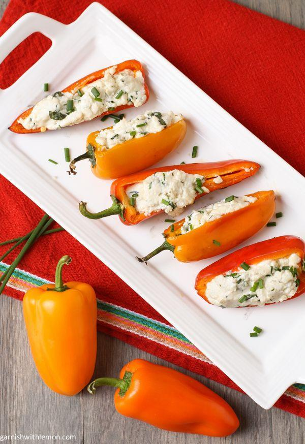 """<p>Crisp and creamy = the super addictive side dish your summer is missing.</p><p>Get the recipe from <a href=""""http://www.garnishwithlemon.com/grilled-peppers-with-goat-cheese/#_a5y_p=1560336"""" rel=""""nofollow noopener"""" target=""""_blank"""" data-ylk=""""slk:Garnish with Lemon"""" class=""""link rapid-noclick-resp"""">Garnish with Lemon</a>.<br></p>"""