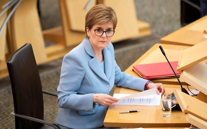 Nicola Sturgeon has been elected First Minister - PA