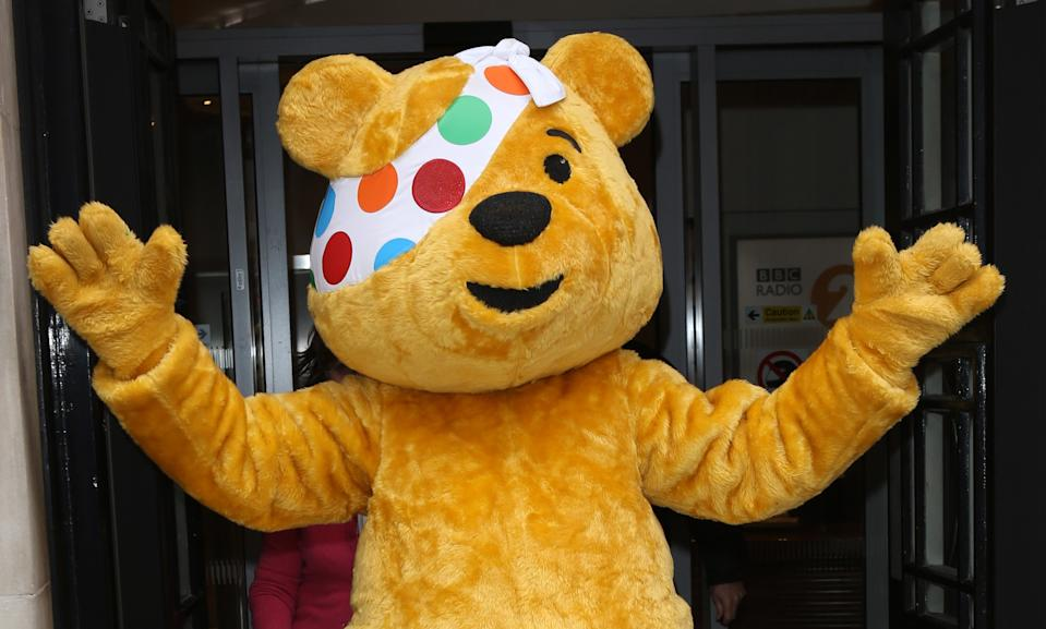 Pudsey Bear is the logo of Children In Need (Getty Images)