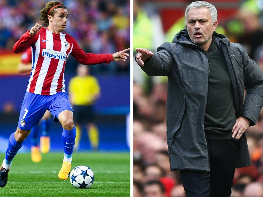 manchester united 39 pull out of race to sign griezmann 39. Black Bedroom Furniture Sets. Home Design Ideas