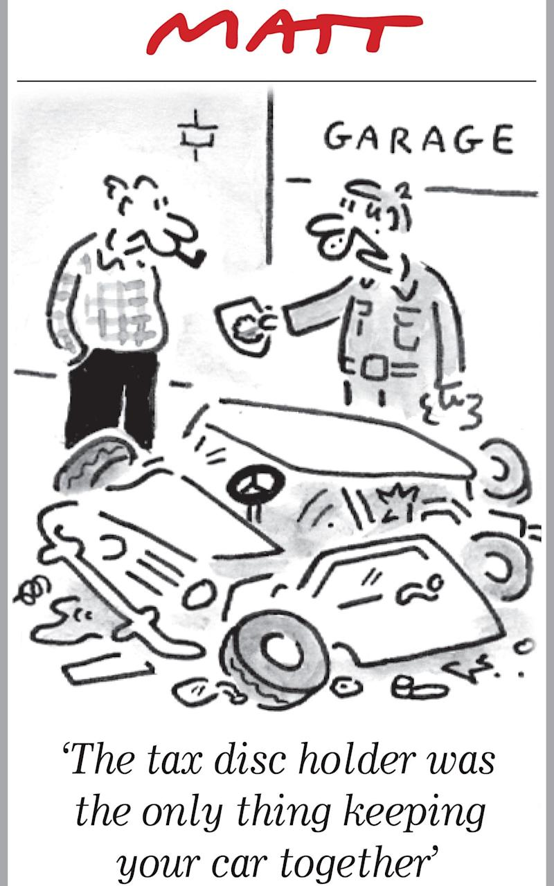Matt cartoon: car tax