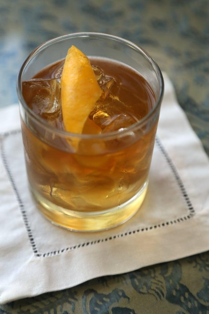 """<p>Made with whiskey, bitters, and a touch of sugar, there's nothing old or out of fashion about this Nebraska favorite. Add a fresh orange slice to make it complete.</p> <p><strong>Get the recipe</strong>: <a href=""""https://www.popsugar.com/food/Old-Fashioned-Recipe-3084667"""" class=""""link rapid-noclick-resp"""" rel=""""nofollow noopener"""" target=""""_blank"""" data-ylk=""""slk:old fashioned"""">old fashioned</a></p>"""