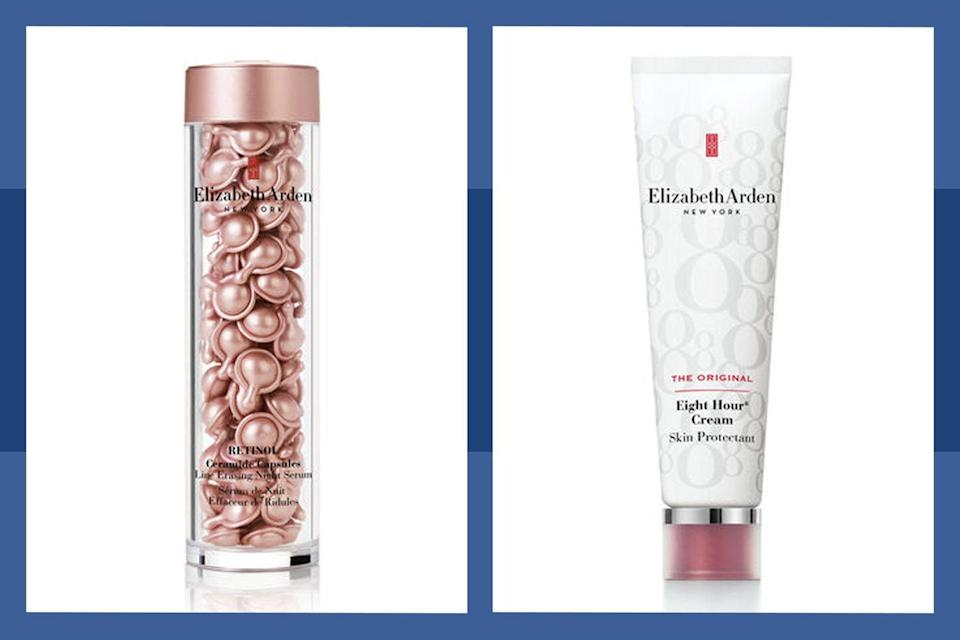 """<p><a class=""""link rapid-noclick-resp"""" href=""""https://go.redirectingat.com?id=74968X1596630&url=https%3A%2F%2Fwww.elizabetharden.com%2F&sref=https%3A%2F%2Fwww.townandcountrymag.com%2Fleisure%2Fg34429509%2Fbest-black-friday-deals%2F"""" rel=""""nofollow noopener"""" target=""""_blank"""" data-ylk=""""slk:SHOP THE SALE"""">SHOP THE SALE</a></p><p>Stock up on your skincare essentials starting 11/23, when Elizabeth Arden will be offering 25% off sitewide plus free shipping. On Cyber Monday, take 30% off sitewide and enjoy the savings until 12/4.</p>"""