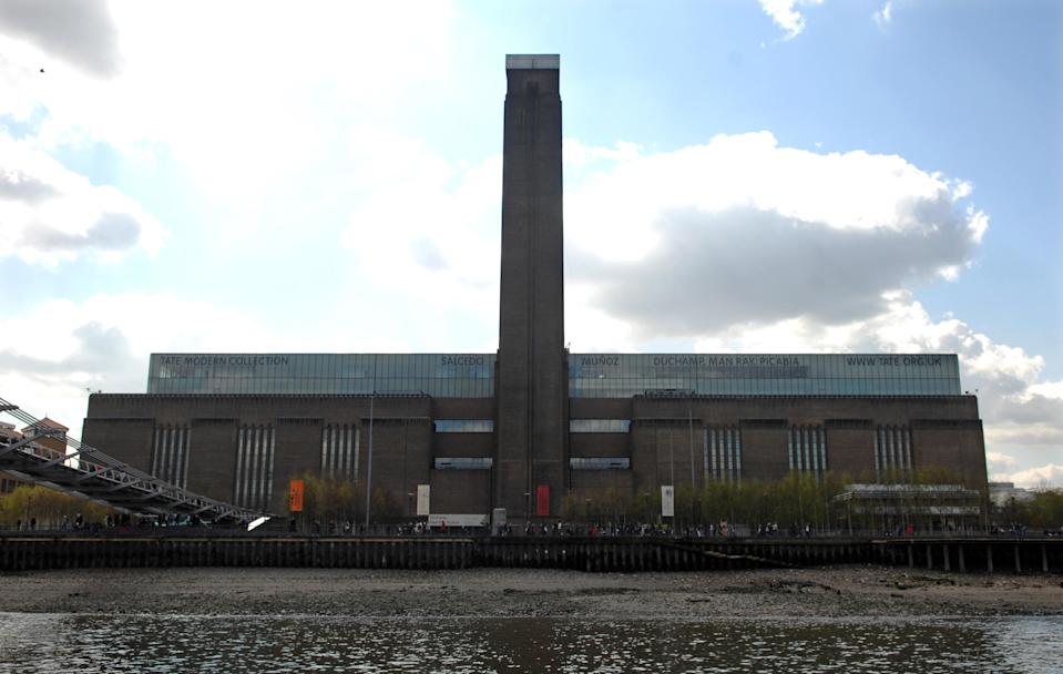 General view of the Tate Modern, central London.   (Photo by Clive Gee - PA Images/PA Images via Getty Images)