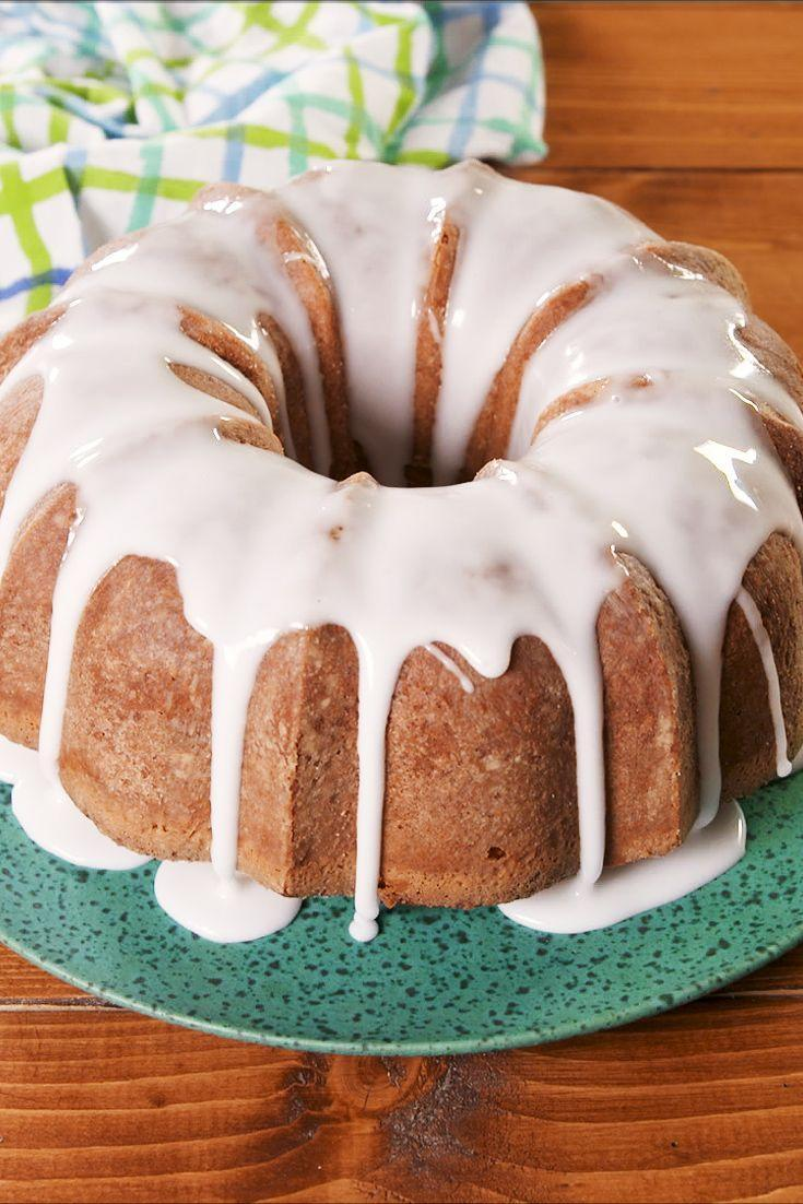 """<p>Thanks to the soda this cake is made with it has hints of lemon and lime and screams Spring time. </p><p>Get the recipe from <a href=""""https://www.delish.com/cooking/recipe-ideas/a29860869/7-up-pound-cake-recipe/"""" rel=""""nofollow noopener"""" target=""""_blank"""" data-ylk=""""slk:Delish"""" class=""""link rapid-noclick-resp"""">Delish</a>. </p>"""