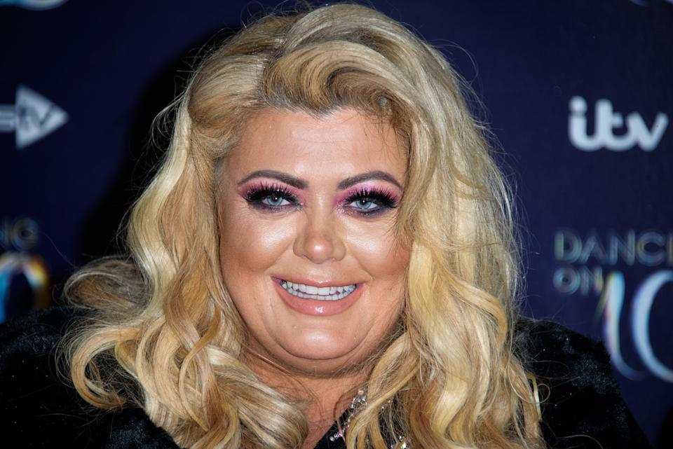 LONDON, ENGLAND - DECEMBER 18: Gemma Collins during the Red Carpet Arrivals for the new series of Dancing On Ice at Natural History Museum Ice Rink on December 18, 2018 in London, England. (Photo by Joe Maher/WireImage)