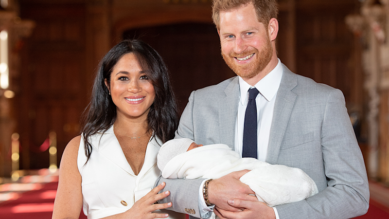 Prince Harry and Meghan Markle introduced son Archie to the world in May