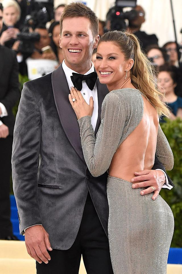 "<p>You might be surprised to know that one of the most genetically-blessed couples (a.k.a. the Bündchen-Bradys) met through a seemingly mundane set-up. In a 2009 interview with <em><a rel=""nofollow"" href=""http://people.com/celebrity/tom-brady-muses-about-his-lifes-unexpected-twists/"">Details</a> </em>magazine, Tom admitted that a close personal friend egged him to go on a date with the supermodel, just weeks after his split with actress Bridget Moynahan in 2006. ""This friend told me he knew a girl version of me,"" Tom told the mag. And that friend aptly predicted the spark, as the power-couple married just three years after the initial blind date, and birthed three (obviously, beautiful) babies since.</p>"