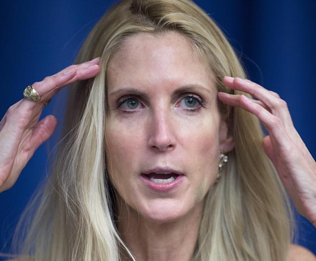 Inspired by Gaza Killings, Ann Coulter Proposes Shooting Immigrants Trying to Cross U.S. Border Illegally