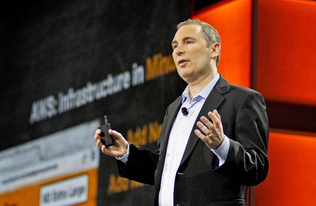 Amazon Web Services CEO Andy Jassy