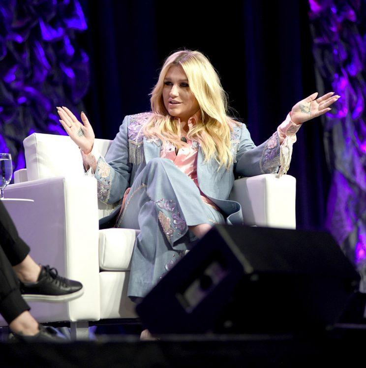 Kesha spoke at Refinery29's conference at SXSW in Austin, Texas. (Photo: Katrina Barber/Getty Images for SXSW)