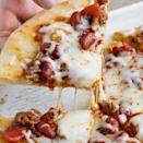 """<p>If you are tired of having the same takeout pizza from your favorite <a href=""""https://www.thedailymeal.com/eat/favorite-pizza-chains?referrer=yahoo&category=beauty_food&include_utm=1&utm_medium=referral&utm_source=yahoo&utm_campaign=feed"""" rel=""""nofollow noopener"""" target=""""_blank"""" data-ylk=""""slk:pizza chains"""" class=""""link rapid-noclick-resp"""">pizza chains</a>, make this dish that combines pizza and chili. </p> <p><a href=""""https://www.thedailymeal.com/best-recipes/easy-chili-pizza?referrer=yahoo&category=beauty_food&include_utm=1&utm_medium=referral&utm_source=yahoo&utm_campaign=feed"""" rel=""""nofollow noopener"""" target=""""_blank"""" data-ylk=""""slk:For the Easy Chili Pizza recipe, click here"""" class=""""link rapid-noclick-resp"""">For the Easy Chili Pizza recipe, click here</a>.</p>"""