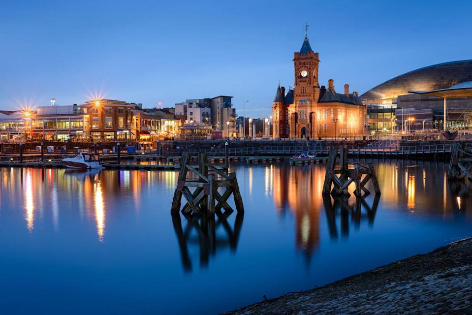 "<p>It's impossible to miss the rich history and culture that make Cardiff a fitting capital for Wales. With a striking medieval castle at its centre, market stalls selling authentic wares - think wooden love spoons and Welsh cakes - span out across the streets around it.</p><p>We recommend a walk around Bute Park right behind it or you could hop aboard and take a guided boat tour from the park and travel the short distance down to Cardiff Bay for an array of waterside eateries, and to see the iconic Millennium Centre building.</p><p><strong>Where to stay: </strong><a href=""https://go.redirectingat.com?id=127X1599956&url=https%3A%2F%2Fwww.booking.com%2Fhotel%2Fgb%2Fcardiffparkplaza.en-gb.html%3Faid%3D1922306%26label%3Dcity-breaks-uk&sref=https%3A%2F%2Fwww.goodhousekeeping.com%2Fuk%2Flifestyle%2Ftravel%2Fg35091603%2Fcity-breaks-uk%2F"" rel=""nofollow noopener"" target=""_blank"" data-ylk=""slk:The Park Plaza"" class=""link rapid-noclick-resp"">The Park Plaza</a> is a city-centre hotel within walking distance of Cardiff's main attractions, decked with original art, home to an extensive spa offering and a restaurant serving uplifted British cuisine – and where the sound distant of church bells offers a charming wake up call.</p><p><a class=""link rapid-noclick-resp"" href=""https://go.redirectingat.com?id=127X1599956&url=https%3A%2F%2Fwww.booking.com%2Fhotel%2Fgb%2Fcardiffparkplaza.en-gb.html%3Faid%3D1922306%26label%3Dcity-breaks-uk&sref=https%3A%2F%2Fwww.goodhousekeeping.com%2Fuk%2Flifestyle%2Ftravel%2Fg35091603%2Fcity-breaks-uk%2F"" rel=""nofollow noopener"" target=""_blank"" data-ylk=""slk:CHECK AVAILABILITY"">CHECK AVAILABILITY</a></p>"